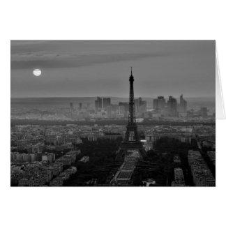 B&W Paris Card