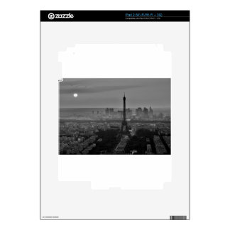 B&W Paris Decals For iPad 2