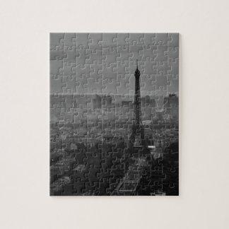 B&W Paris Jigsaw Puzzle