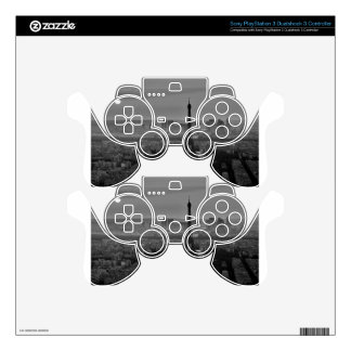 B&W Paris Skin For PS3 Controller