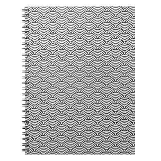 B&W Pattern Notebook