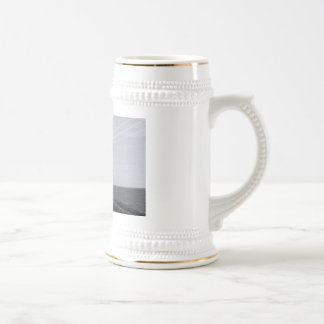 B&W Peggy's Cove Lighthouse Beer Stein
