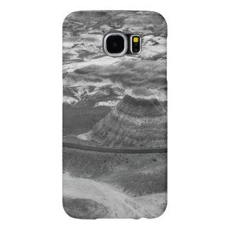B&W Petrified Forest Samsung Galaxy S6 Cases