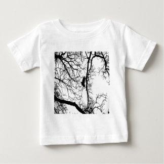 B&W Photo Bird Flying #2 Baby T-Shirt