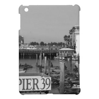 B&W Pier 39 Sea Lions iPad Mini Cover