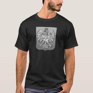 B/W Polish Eagle Shield T-Shirt