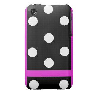 B&W Polka-dot iPod Touch Case