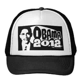 B&W reeligen el engranaje de Obama 2012 Gorro De Camionero
