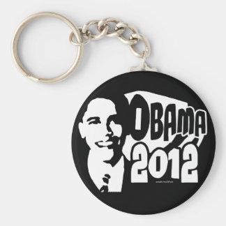 B&W reeligen el engranaje de Obama 2012 Llavero Redondo Tipo Pin
