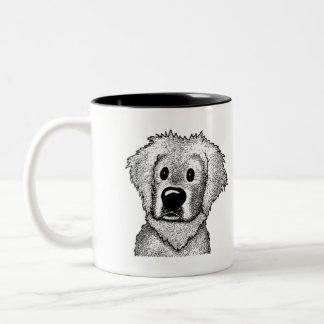 B&W Rescue Breed Coffee Mug