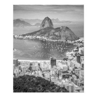 B&W Rio de Janeiro aerial view Flyer