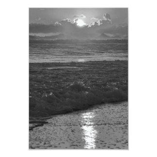B&W Rio de Janeiro beach Card