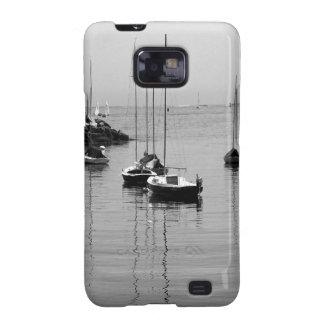 B W Sailboats Samsung Galaxy S2 Cover