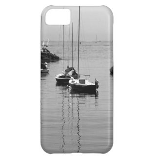 B&W Sailboats Cover For iPhone 5C