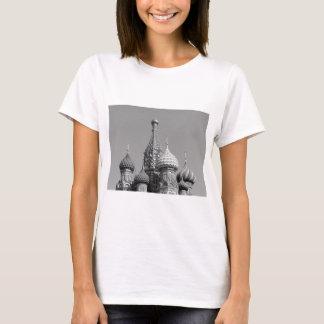 B&W Saint Basil's Cathedral T-Shirt