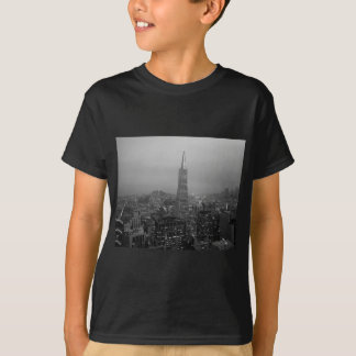 B&W San Francisco Downtown T-Shirt