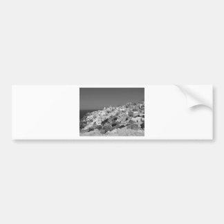 B&W Santorini 10 Bumper Sticker