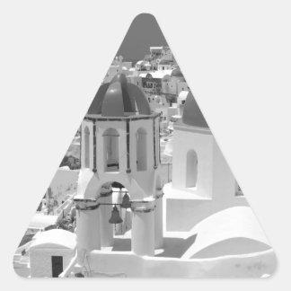 B&W Santorini 2 Triangle Sticker