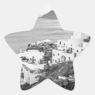 B&W Santorini 8 Star Sticker