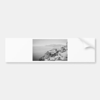 B&W Santorini Bumper Sticker