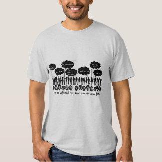 B/W se expresan camisa