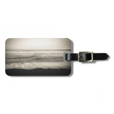 USA Themed B&W seascape, Hawaii Bag Tag