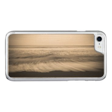 USA Themed B&W seascape, Hawaii Carved iPhone 7 Case