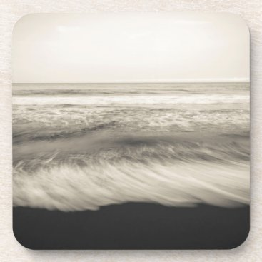 USA Themed B&W seascape, Hawaii Coaster