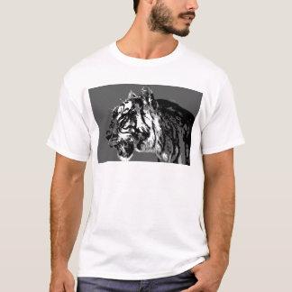 B&W Siberian Tiger T-Shirt