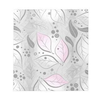 B&W splash Wallpaper Note Pad