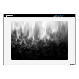 B&W Spotted Blur - Laptop Skin