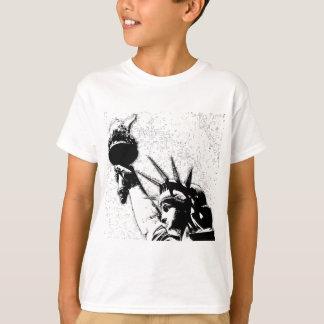 B&W Statue of Liberty T-Shirt