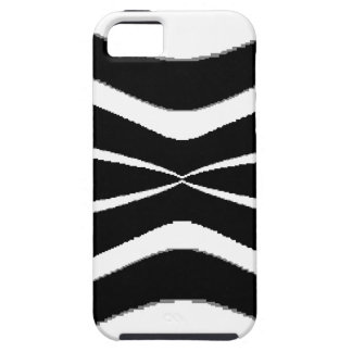 B & W Stripes-  Pinched.gif iPhone SE/5/5s Case