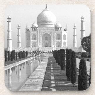 B&W Taj Mahal 3 Coaster