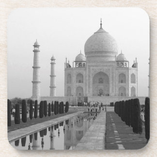 B&W Taj Mahal 4 Drink Coaster