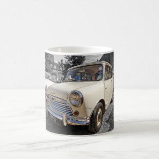 B/W Tinted British Mini Car Mug