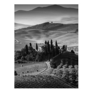 B&W Toscana Tarjetas Postales