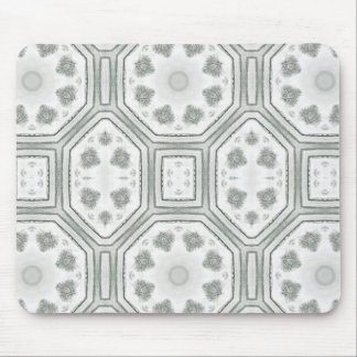 B&W Trees - Geometric Orchards Mouse Pad