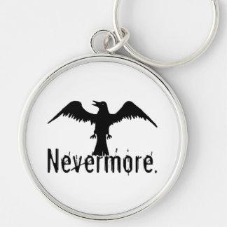 B W Tribal Raven Nevermore Key Chain
