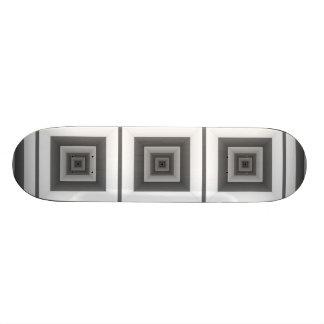 B&W Tunnels - Skateboard Deck
