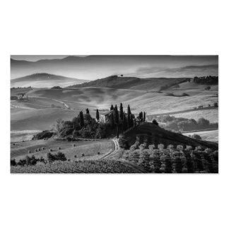 B&W Tuscany Business Card