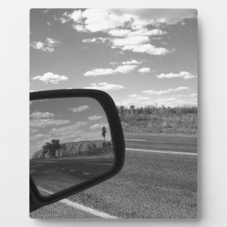 B&W Uluru 4 Photo Plaques