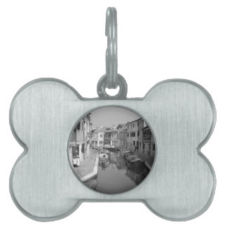 B&W Venecia 5 Placas De Mascota