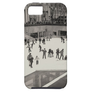 B &W Vintage Skating @ the Rink iPhone 5/5s Case