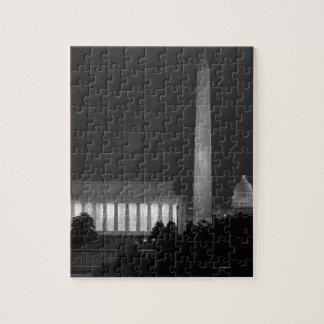 B&W Washington DC 3 Jigsaw Puzzles