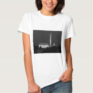 B&W Washington DC 3 T-shirt