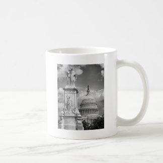 B&W Washington DC Coffee Mug