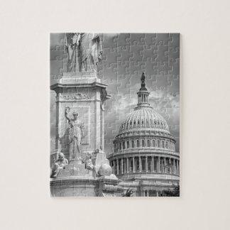 B&W Washington DC Jigsaw Puzzles