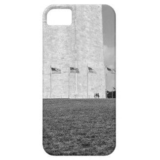 B&W Washington Monument iPhone SE/5/5s Case