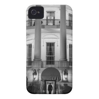 B&W White House 2 iPhone 4 Case